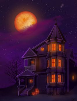 Haunted house by Aniplay