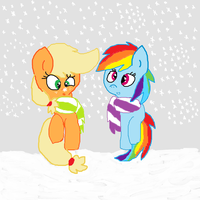 Magical winter by cottoncloudyfilly