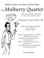 Mulberry Quartet - Mahler by mitya