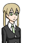 Maka Talk Sprite by Z-Raid