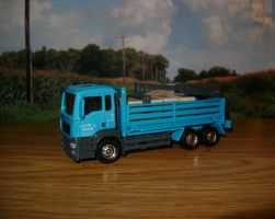 [2009] MAN TGS Flatbed Cargo Hauler by HuskyDiecastPlanet