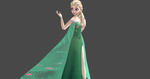 Frozen Fever Elsa by Ally-Sama-Chan