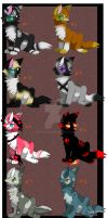 Collab adopts- CLOSED by Prince-Foxlan
