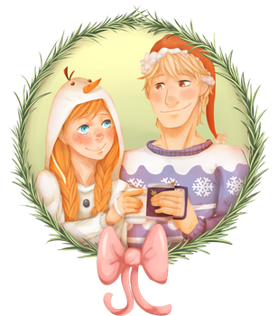 Frozen - Merry Christmas by Anime-Grimmy