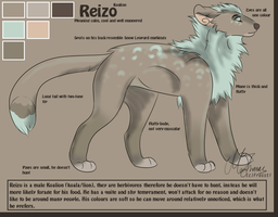 Reizo Reference Sheet by Frosstie