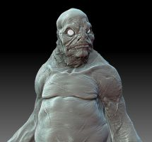 Innsmouth Brute by DaveGrasso