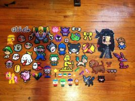 xX Perler Bead collection Xx by CommanderMitsuki