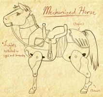 The Divide RP - Mechanized Horse by RoyLover