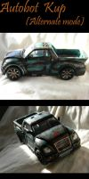 Caught in the Crossfire Kup alt mode by E-Dowely