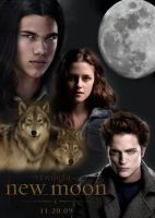 New Moon FanPoster by nwwwm