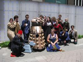 Animazement: Doctor Who cosplayers by CursedFire