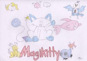 Magikitty by Milayou