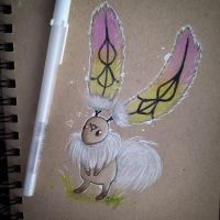 The Happy Bunny of Giza Plains by SweetNLoewy