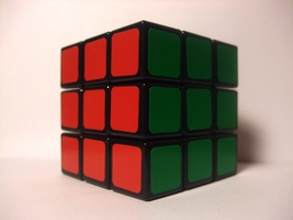 Rubiks Cube Front by laimonas171