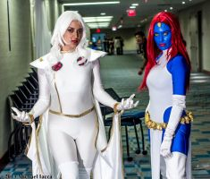 Storm and Mystique 2 by Insane-Pencil