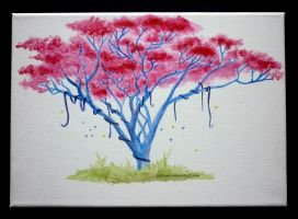 Painted Tree by JustEyra