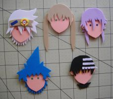 Foam Faces: Soul Eater by Meika02