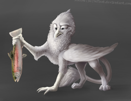 Gryphon comission 2 by DiscordTheTrollest