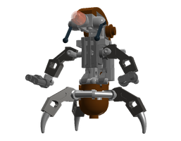 Lego Star Wars - Destroyer Droid LDD by Cryptdidical