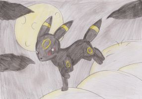 Art Trade - Umbreon by tinttiyo