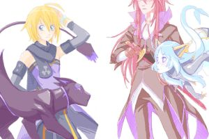 TegakiE - Symphonia VS by Kishmet