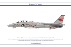 F-14A VF-1 1 by WS-Clave