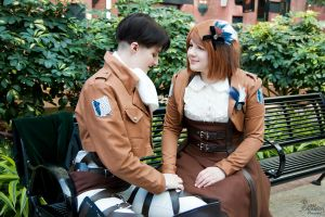 Attack on Titan I by EnchantedCupcake