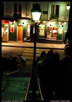Lampadaire a Montmartre by shark-graphic
