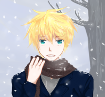 Len : Waiting under the snow. by SuniD