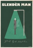 Slender Man Poster by countevil