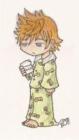 Roxas...in the morning by NarcolepticPenguin