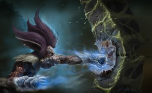 Trundle with Iceborn Gauntles by NickDeSpain