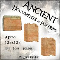 Ancient Documents and Folders by cooliojulio