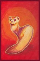 Red Ferret by nienor