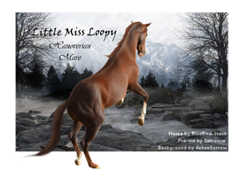Little Miss Loopy by CocoQueenofCards