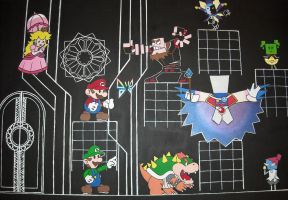 Paper Mario - Final Showdown by Raydrille