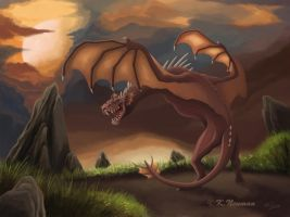 Wyvern by SneakyyLion