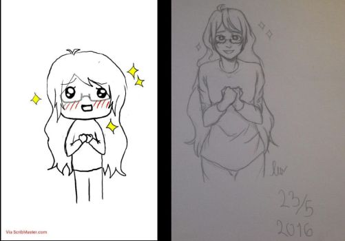 2 years difference by AL1ttleTh0ught