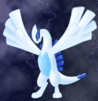 Lugia Storm by Articuno