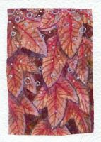 ACEO - Autumn leaves by MargoMeiko