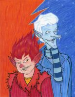 The Miser Brothers Are Back by MorianBloodmoon