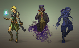 More Comic Characters by Vermin-Star