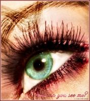 eye colorization by rose-petals