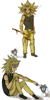 Marik meets Bakukitty by Julesie