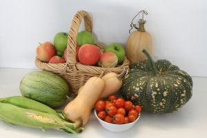 Autumn Harvest by Lindalees