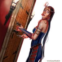Blue-Beard Ravenn is going to open the door by laura-csajagi