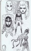 Medusa concepts 1 by dogmeatsausage