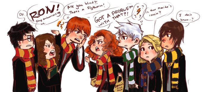 Request: Big Four vs Golden Trio by ZLynn