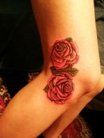 roses by Haretattoo