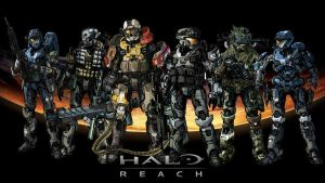 Fan Made Halo Reach Wallpaper by WolfBeatsBear